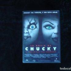 Cine: LA NOVIA DE CHUCKY - DVD CASI COMO NUEVO . Lote 189242040