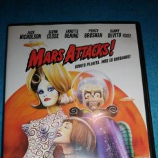 Cine: MARS ATTACKS! TIM BURTON- DVD. Lote 189262241