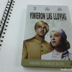 Cine: VINIERON LAS LLUVIAS-MYRNA LOY-TYRONE POWER-GEORGE BRENT-CLARENCE BROWN-DVD -N. Lote 189273165