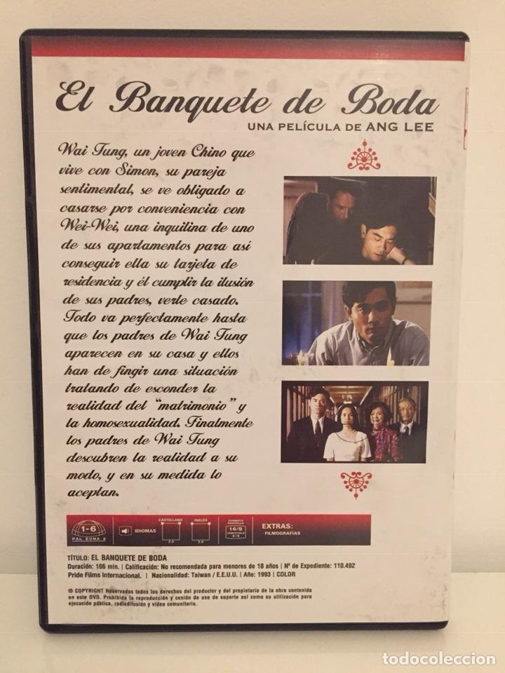 Cine: EL BANQUETE DE BODA /UNA PELÍCULA DE ANG LEE/1993 DVD - Foto 3 - 189285780