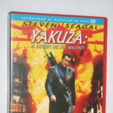 Cine: YAKUZA: EL IMPERIO DEL SOL NACIENTE (STEVEN SEAGAL, EDDIE GEORGE) *** DVD CINE ACCIN / THRILLER *** . Lote 189375002