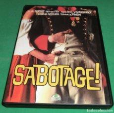 Cine: DVD SABOTAGE! / DAVID SUCHET (UNA SOLA VISUALIZACIÓN) IMPECABLE DESDE EL DIA Q SE COMPRÓ. Lote 189465461