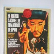 Cine: EL TERROR DE LOS TONGS (CHRISTOPHER LEE, BARBARA BROWN) *** DVD CINE AVENTURAS / THRILLER *** . Lote 189488137