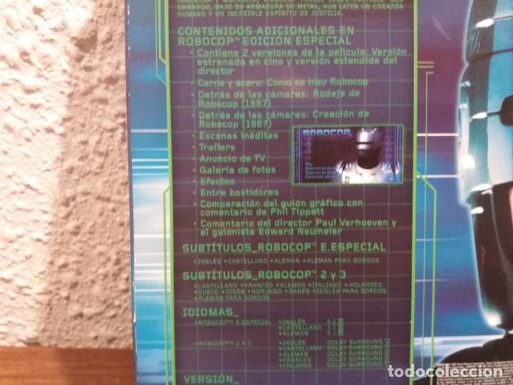 Cine: DVD TRILOGIA ROBOCOP - Foto 5 - 189514201