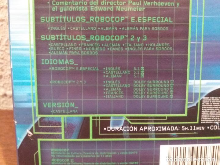 Cine: DVD TRILOGIA ROBOCOP - Foto 6 - 189514201