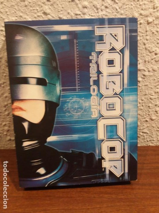 DVD TRILOGIA ROBOCOP (Cine - Películas - DVD)