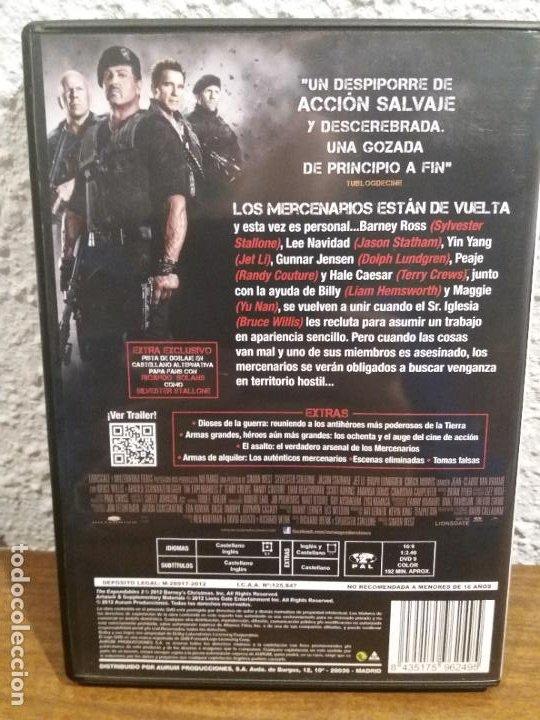 Cine: DVD LOS MERCENARIOS 2 - Foto 2 - 189516385