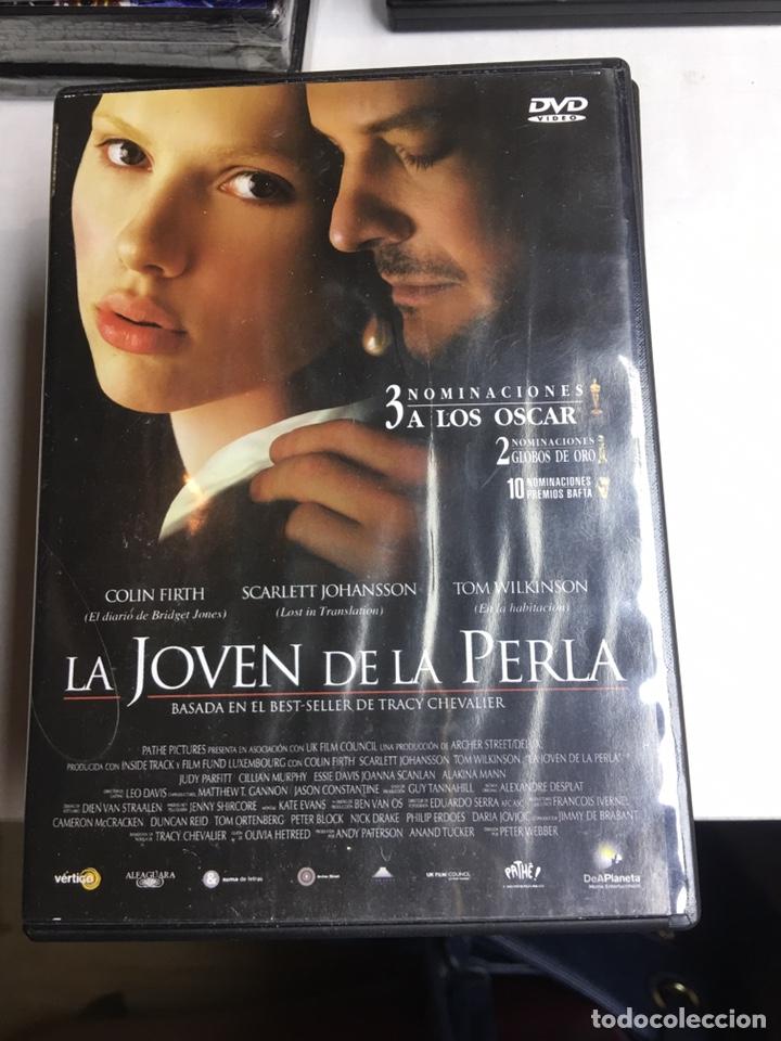 DVD - LA JOVEN DE LA PERLA (Cine - Películas - DVD)