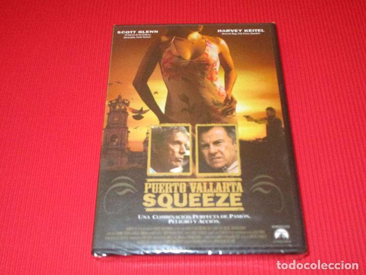 PUERTO VALLARTA SQUEEZE - DV - 82002 - PARAMOUNT - PRECINTADA - SCOTT GLENN - HARVEY KEITEL (Cine - Películas - DVD)