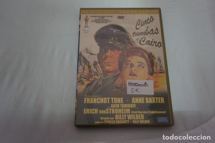 (4-B2) - 1 X DVD / CINCO TUMBAS AL CAIRO / BILLY WILDER (Cine - Películas - DVD)