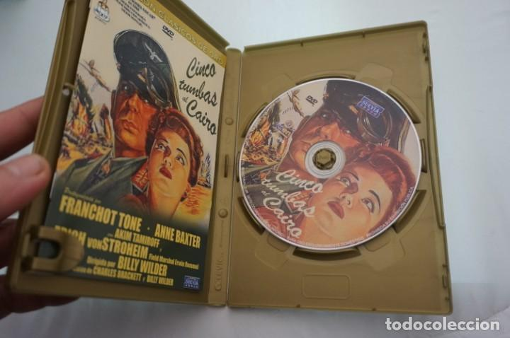 Cine: (4-B2) - 1 x DVD / CINCO TUMBAS AL CAIRO / BILLY WILDER - Foto 2 - 189603988