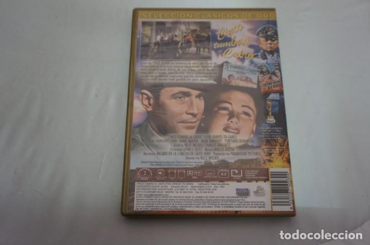 Cine: (4-B2) - 1 x DVD / CINCO TUMBAS AL CAIRO / BILLY WILDER - Foto 3 - 189603988