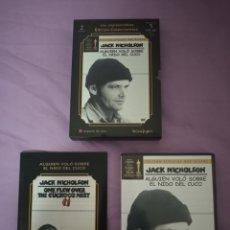 Cine: DVD. ALGUIEN VOLÓ SOBRE EL NIDO DEL CUCO. 2 DVDS + LIBRETO. ED. COLECCIONISTA. LOS IMPRESCINDIBLES.. Lote 189629326