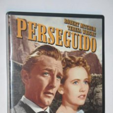 Cine: PERSEGUIDO (ROBERT MITCHUM, TERESA WRIGHT, DEAN JAGGER) *** DVD CINE WESTERN / DRAMA *** . Lote 189671622
