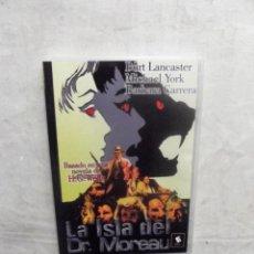 Cine: DVD - LA ISLA DEL DR. MOREAU CON BURT LANCASTER , MICHAEL YORK , BARBARA CARRERA. Lote 189700572