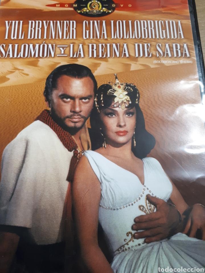 La Reina De Saba Yul Brynner Gina Lollobrigida Comprar Filmes Em Dvd Em Todocoleccion 189709857