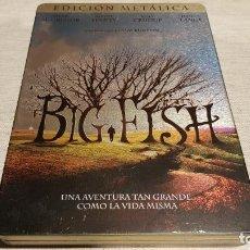 Cine: BIG FISH / EDICIÓN DE COLECCIONISTA EN CAJA METÁLICA / ESPAÑOL-INGLÉS-CHECO / DE LUJO.. Lote 189771518