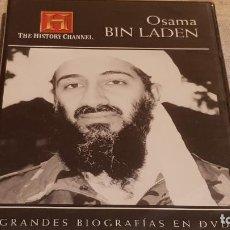 Cine: OSAMA BIN LADEN / GRANDES BIOGRAFÍAS EN DVD / CANAL HISTORIA / PRECINTADO.. Lote 189828910