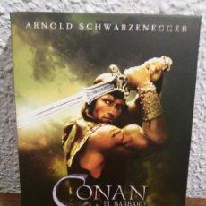 Cine: DVD CONAN EL BARBARO Y CONAN EL DESTRUCTOR. Lote 189899421