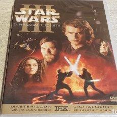 Cine: STAR WARS III / LA VENGANZA DE LOS SITH / MASTERIZADA / 2 DISCOS / DVD - PRECINTADO.. Lote 189929648