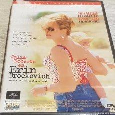 Cine: ERIN BROCKOVICH / JULIA ROBERTS / DVD - PRECINTADO.. Lote 189931090