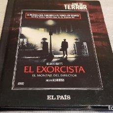 Cine: CINE DE TERROR / EL EXORCISTA / EL MONTAJE DEL DIRECTOR / LIBRO-DVD ( 61 PAG ) DE LUJO.. Lote 189932261