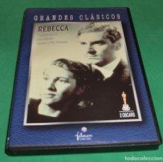 Cine: DVD REBECA (GRANDES CLÁSICOS) (IMPECABLE DESDE EL DIA Q SE COMPRÓ). Lote 190066491