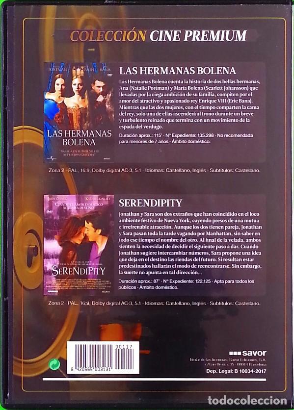 Cine: Las hermanas Bolena + Serendipity - (2 películas) - Foto 2 - 190072113