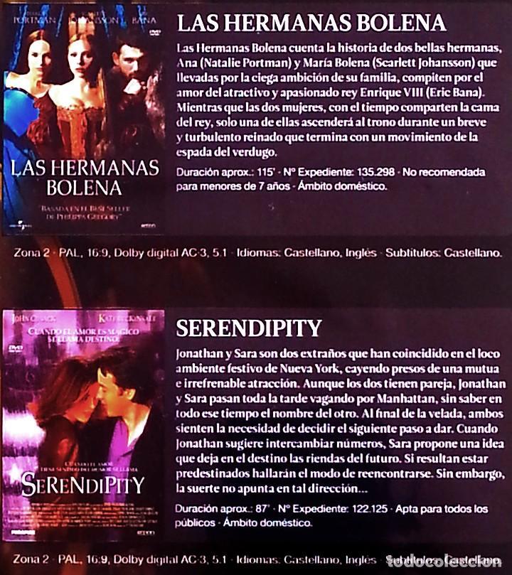 Cine: Las hermanas Bolena + Serendipity - (2 películas) - Foto 3 - 190072113