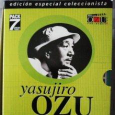 Cine: YASUJIRU OZU. EDICIÓN ESPECIAL COLECCIONISTA PACK 7 DVD.. Lote 190074622