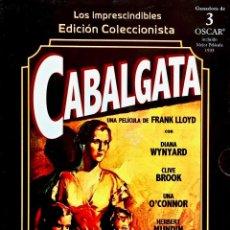 Cine: CABALGATA. EDICIÓN COLECCIONISTA EL CORTE INGLÉS / IMPRESCINDIBLES. ESTUCHE+ DVD+ LIBRETO.. Lote 190313167