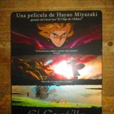 Cine: EL CASTILLO AMBULANTE - ED. LIMITADA METÁLICA 2 DVDS - HAYAO MIYAZAKI - STUDIO GHIBLI *ANIME- MANGA. Lote 190367607