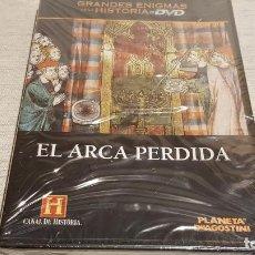 Cine: EL ARCA PERDIDA / GRANDES ENIGMAS DE LA HISTORIA / DVD - PRECINTADO.. Lote 190419582