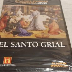 Cine: EL SANTO GRIAL / GRANDES ENIGMAS DE LA HISTORIA / DVD - PRECINTADO.. Lote 190419867