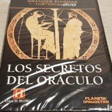 Cine: LOS SECRETOS DEL ORÁCULO / GRANDES ENIGMAS DE LA HISTORIA / DVD - PRECINTADO.. Lote 190420120