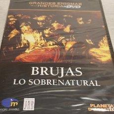 Cine: BRUJAS - LO SOBRENATURAL / GRANDES ENIGMAS DE LA HISTORIA / DVD - PRECINTADO.. Lote 190420353