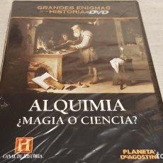 Cine: ALQUIMIA ¿ MAGIA O CIENCIA ? / GRANDES ENIGMAS DE LA HISTORIA / DVD - PRECINTADO.. Lote 190421323