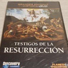 Cine: TESTIGOS DE LA RESURRECCIÓN / GRANDES ENIGMAS DE LA HISTORIA / DVD - PRECINTADO.. Lote 190421587