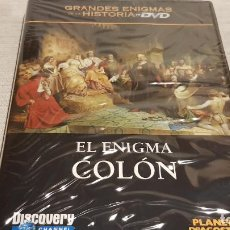 Cine: EL ENIGMA COLÓN / GRANDES ENIGMAS DE LA HISTORIA / DVD - PRECINTADO.. Lote 190421837