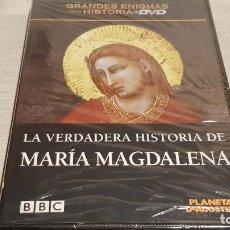 Cine: LA VERDADERA HISTORIA DE MARÍA MAGDALENA / GRANDES ENIGMAS DE LA HISTORIA / DVD - PRECINTADO.. Lote 190422602