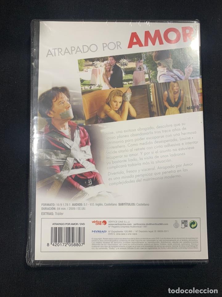 Cine: (A33) ATRAPADO POR AMOR ( dvd nuevo precintado ) - Foto 2 - 190423870