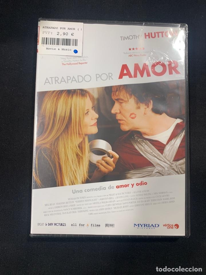 (A33) ATRAPADO POR AMOR ( DVD NUEVO PRECINTADO ) (Cine - Películas - DVD)