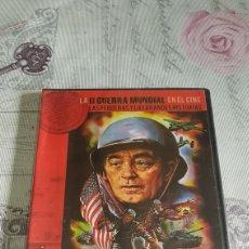 Cine: DVD LA II GUERRA MUNDIAL EN EL CINE (PRECINTADA). Lote 190437987