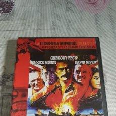 Cine: DVD LA II GUERRA MUNDIAL EN EL CINE (PRECINTADA). Lote 190438065