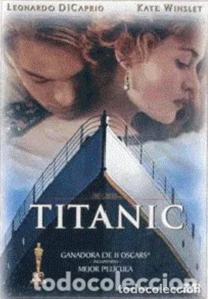 TITANIC DVD NUEVO PRECINTADO!!!! LEONARDO DICAPRIO KATE WINSLEY GANADORA II OSCARS MEJOR PELÍCULA (Cine - Películas - DVD)