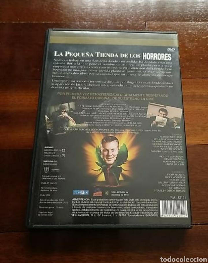 Cine: DVD LA PEQUEÑA TIENDA DE LOS HORRORES EDICIÓN COLECCIONISTA, un clásico - Foto 2 - 190498391
