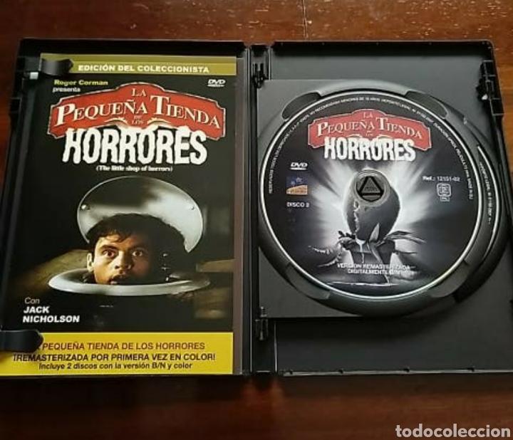 Cine: DVD LA PEQUEÑA TIENDA DE LOS HORRORES EDICIÓN COLECCIONISTA, un clásico - Foto 3 - 190498391