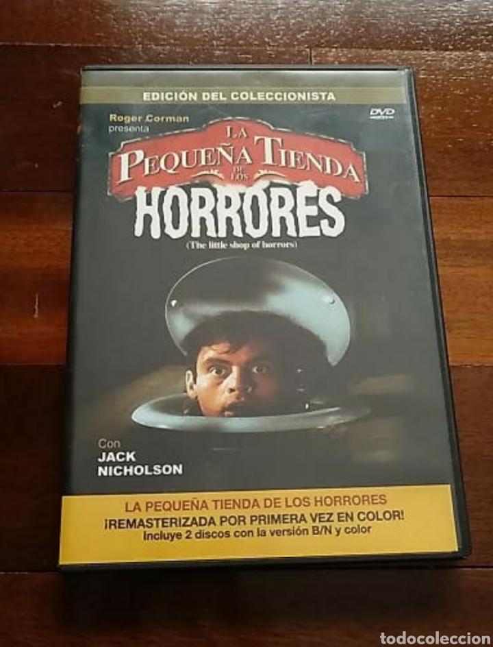 DVD LA PEQUEÑA TIENDA DE LOS HORRORES EDICIÓN COLECCIONISTA, UN CLÁSICO (Cine - Películas - DVD)