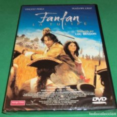 Cine: DVD FANFAN LA TULIPE / VINCENT PEREZ & PENÉLOPE CRUZ [PRECINTADA]...A ESTRENAR. Lote 190512875