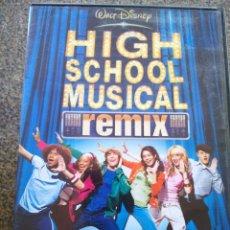 Cinema: DVD -- HIGH SCHOOL MUSICAL REMIX -- . Lote 190756890